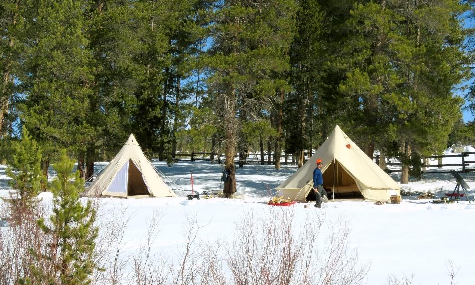 Snow Load on Canvas Tents - Blog by CanvasCamp