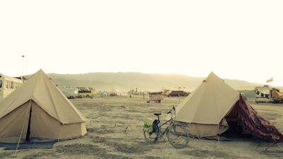 Burning Man: How to Pitch a Tent