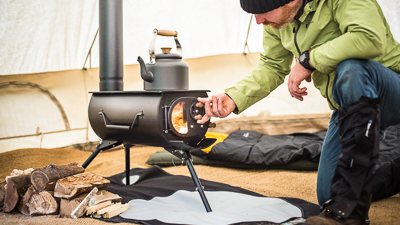 How Tent Stoves Work