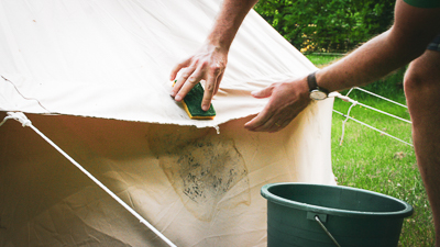 Canvas Tent Maintenance