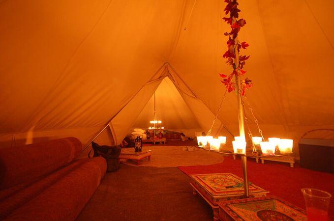 Double tea light chandelier tent decorations canvascamp double tea light chandelier tent decoration camping tent lights aloadofball Gallery