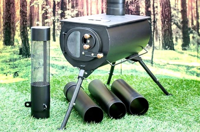 Frontier Plus Portable Stove & Frontier Plus Portable Stove | Tent Stoves | Canvas Tents ...