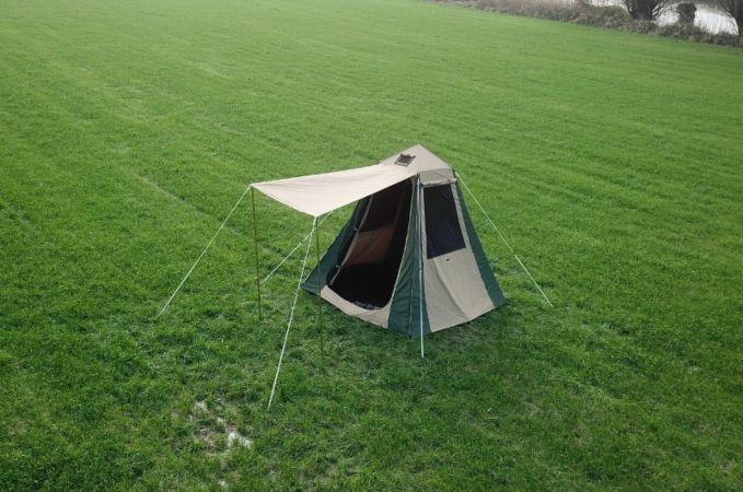 Obelisk shower and toilet polycotton tent & Obelisk Shower and Toilet Tent - CanvasCamp