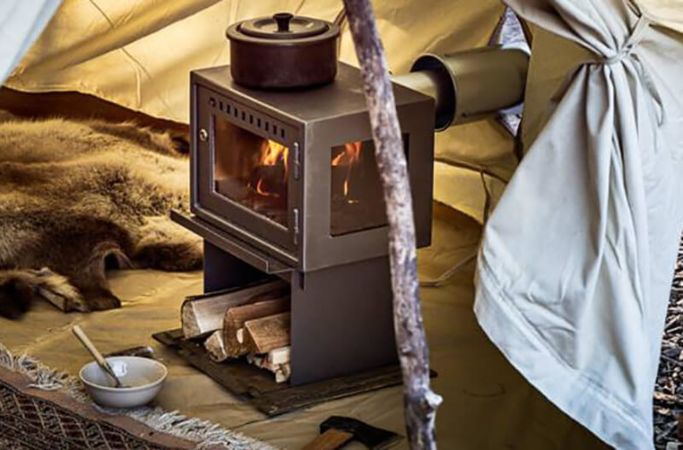 Orland Tent Stove Wood Gl&ing Heater & Orland Tent Stove | Camp Stoves | Glamping | Canvascamp - CanvasCamp