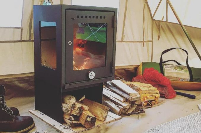 Orland C& Stove Wood Tent Stove & Orland Camp Stove | Tent Stoves | Glamping | Canvascamp - CanvasCamp