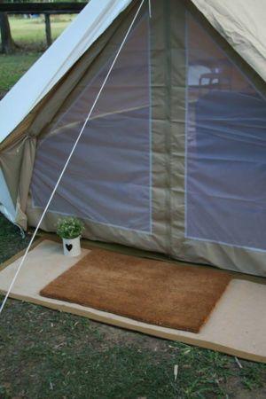 bell tent mesh door & Mesh Door Canvas Tents | Sibley Bell Tent Accessories | Canvascamp ...