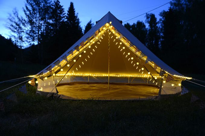bell glamping tents
