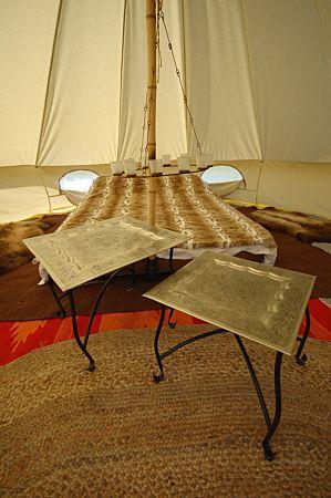 Single tea light chandelier tent decorations canvascamp single tea light chandelier tent decoration glamping tent lighting aloadofball Gallery
