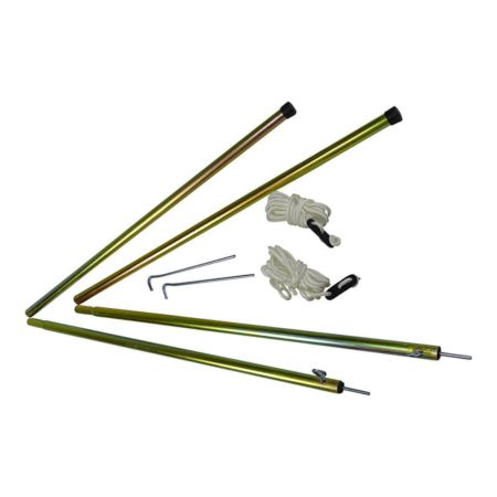 Telescopic Steel Tent Pole Set  sc 1 st  CanvasC& & Telescopic Steel Tent Pole Set | Tent Accessories | CanvasCamp ...