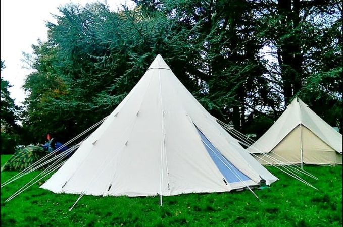 Tipi 600 Ultimate Canvas Tent & Tipi 600 Ultimate | Tipi Tents | Canvas Tents | Canvascamp ...