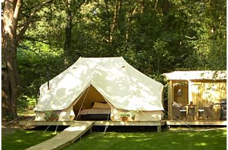 sibley 600 twin double pole luxury bell tent