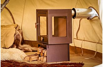 orland wood camp stove cotton bell tent