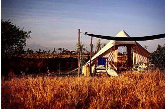 roman deluxe canvas cotton luxury group tent