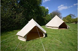sibley 300 bell tent glamping
