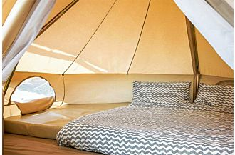 sibley 300 ultimate bell tent glamping