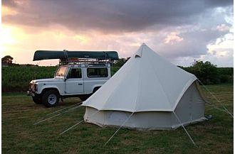 sibley 400 deluxe bell tent desert camping