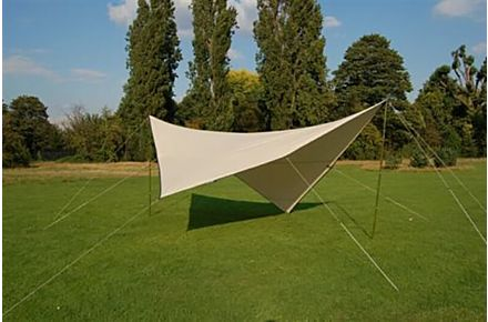 Polycotton Square Shelter