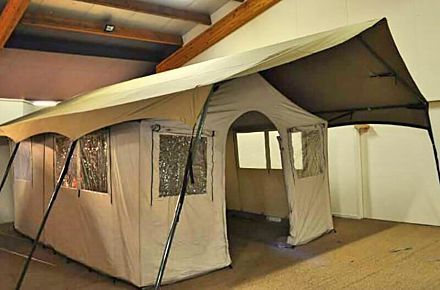 safari bungalow tent luxury camping