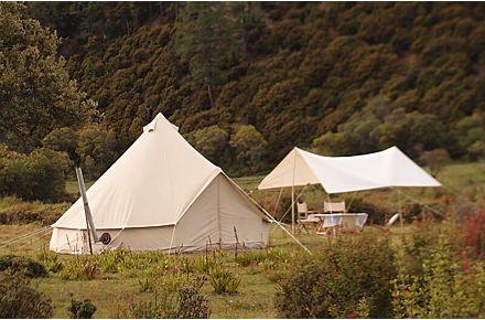 4-season wall tent