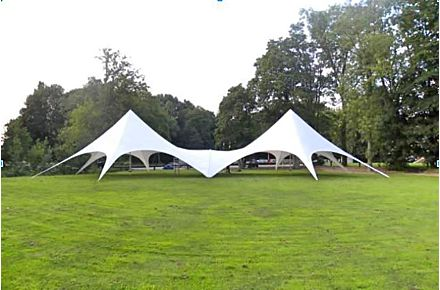 Connector StarShade 1700 PRO & StarShade | Event Tents | 100% Cotton Canvas | 4 Season ...