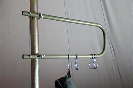 Steel Camping Coat Rack