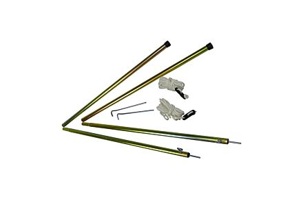 Telescopic Steel Tent Pole Set