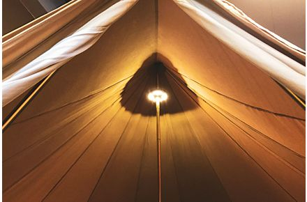 Tent Pole Light