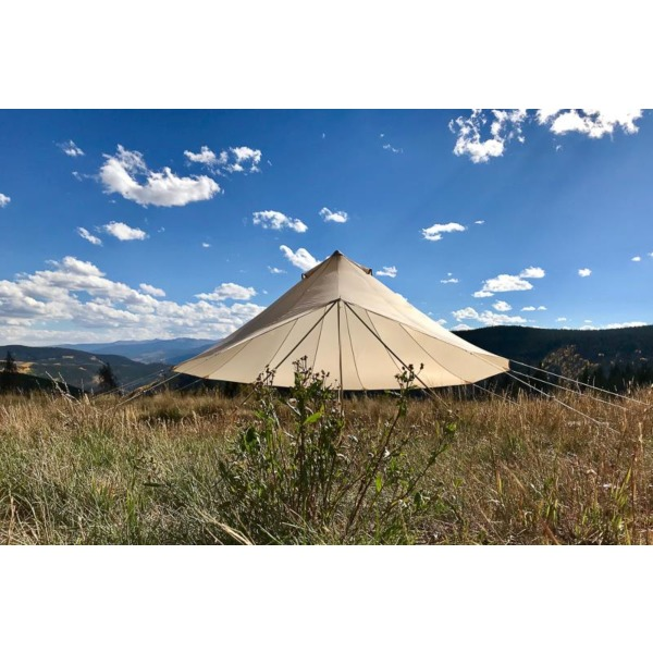 sc 1 st  CanvasC& & Sibley Bell Tent Fly | Double Roof | Sunshade | CanvasCamp