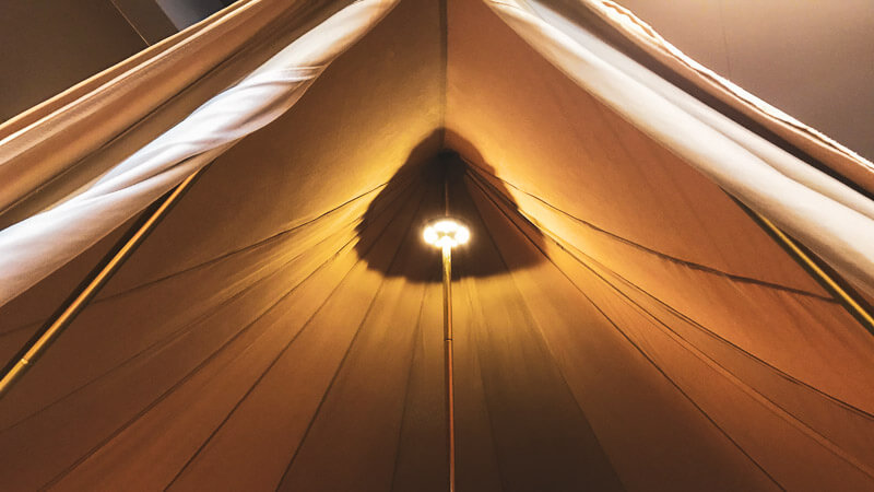 Tent Pole Light by CanvasCamp
