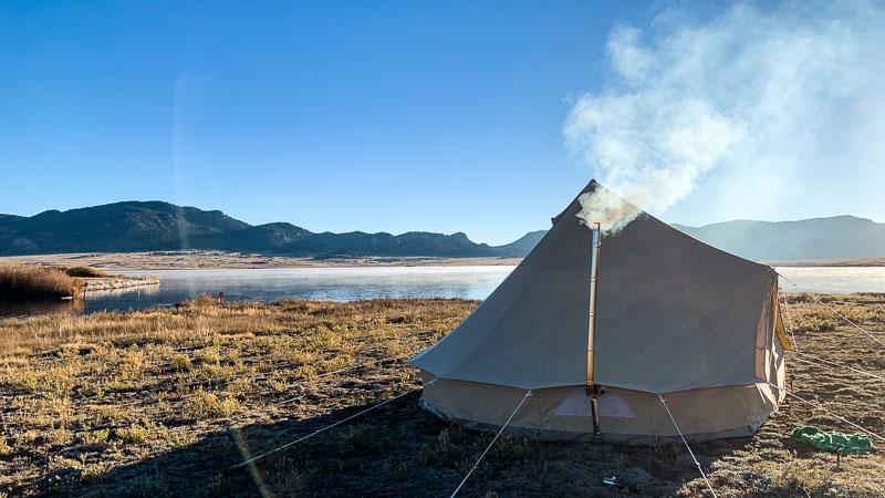 Smokey Tent