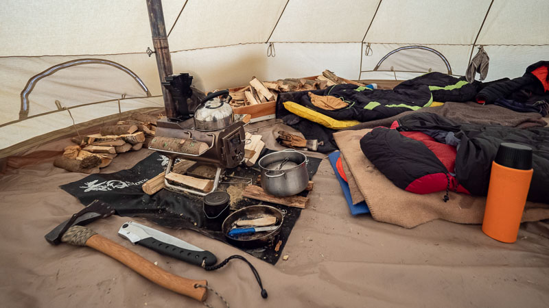 Tent Stove Gear