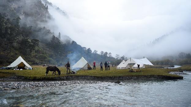 Camping & campfire