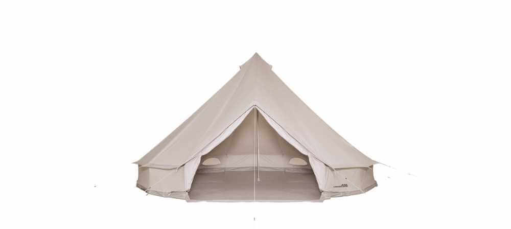 How to Pitch a Sibley Bell Tent