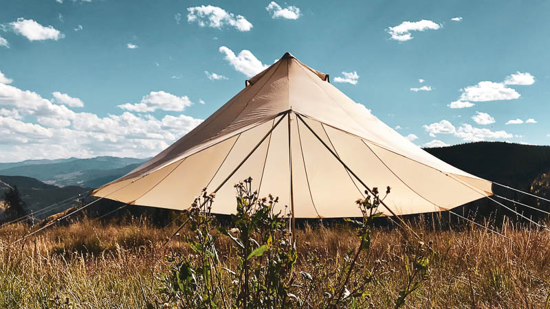 SIBLEY BELL TENT FLY: New for 2019