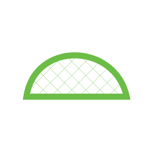 mesh window and ventilation canvas tent