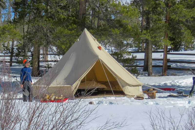 2 Person Four Season Tent