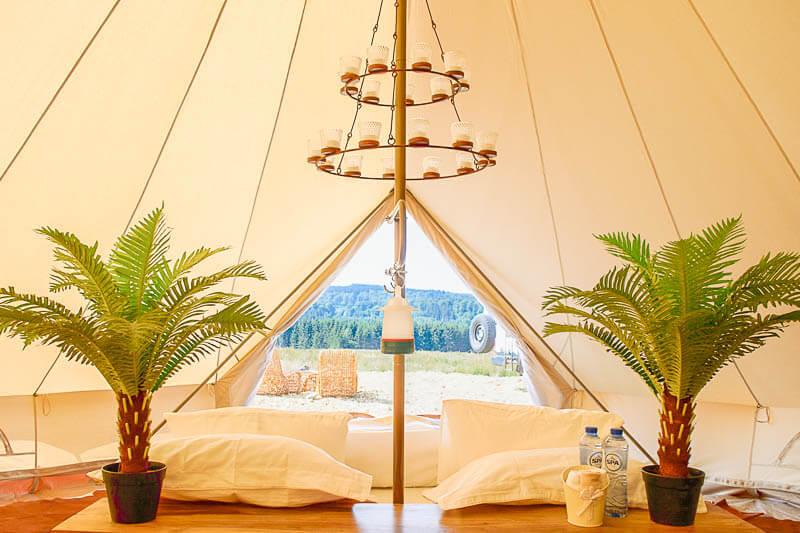 2 Person Glamping Tent
