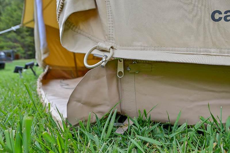 Sibley Bell Tent Zipper Floor