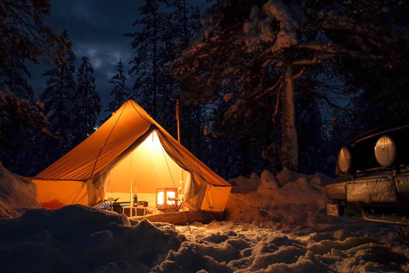 Four Season Glamping Tent