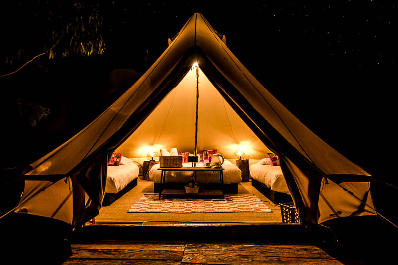Large Glamping Tent