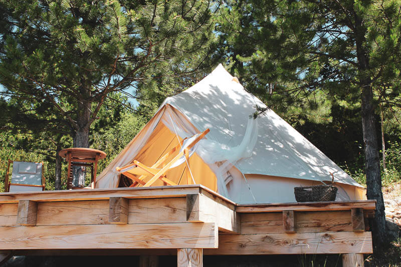 Sibley Glamping Tent