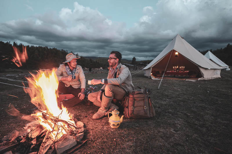 Night Glamping Tent