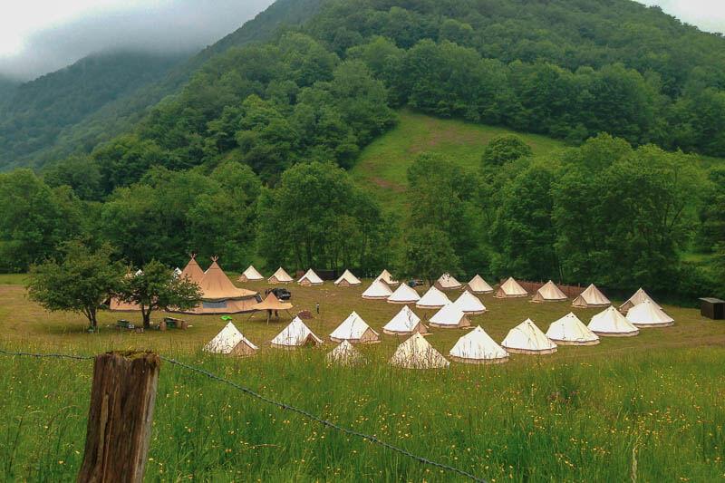 Sibley Glamping Tents