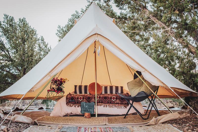 Glamping Yurt Tent