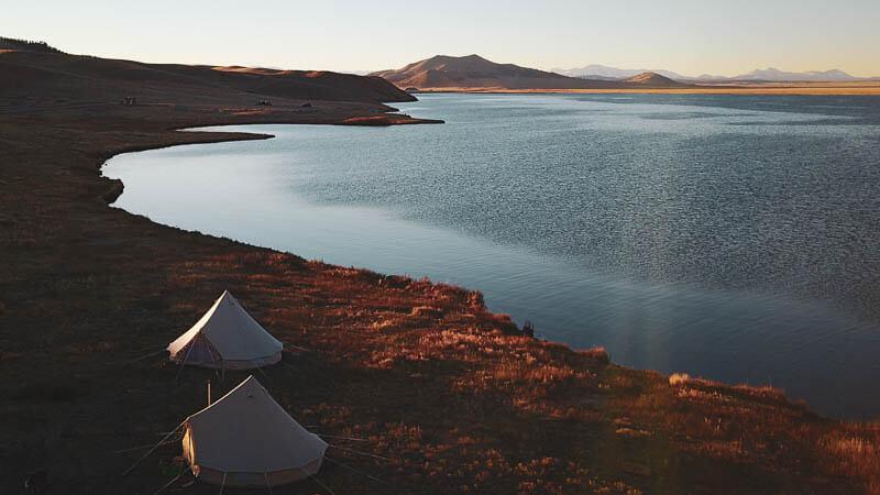 Wind Resistant canvas Tent