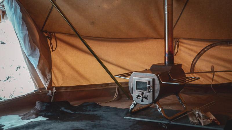 Tent Stove Hot Tent