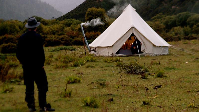 Wood burning Tent Stove