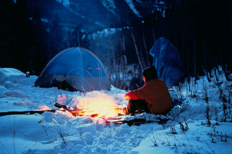 Nylon Cold Weather Camping Tent