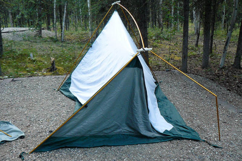 Broken Nylon Tent Durability Fail