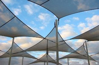 CanvasCamp zonneschermen UV bescherming